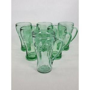Libbey Coca Cola Soda Glass Set of 6